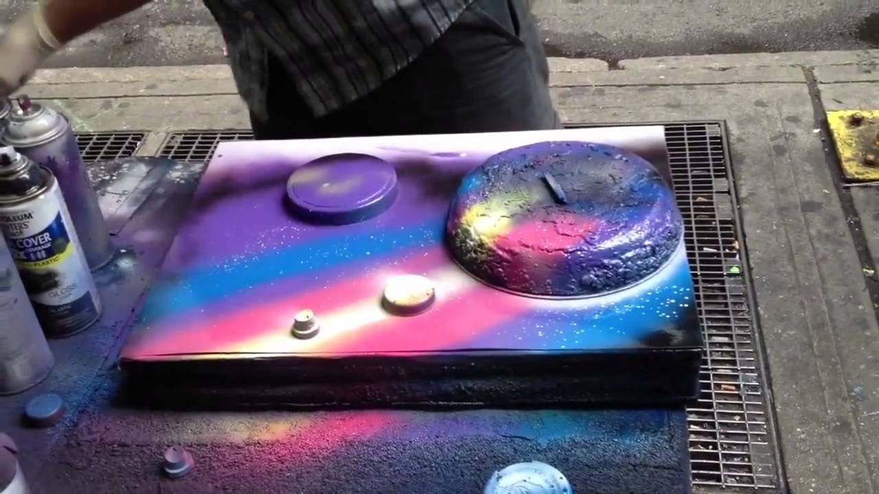 Beginner Graffiti Spray Paint