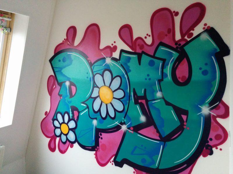 Graffiti Slaapkamer Muur : Graffiti op je slaapkamer luxe graffiti slaapkamer muur luxe